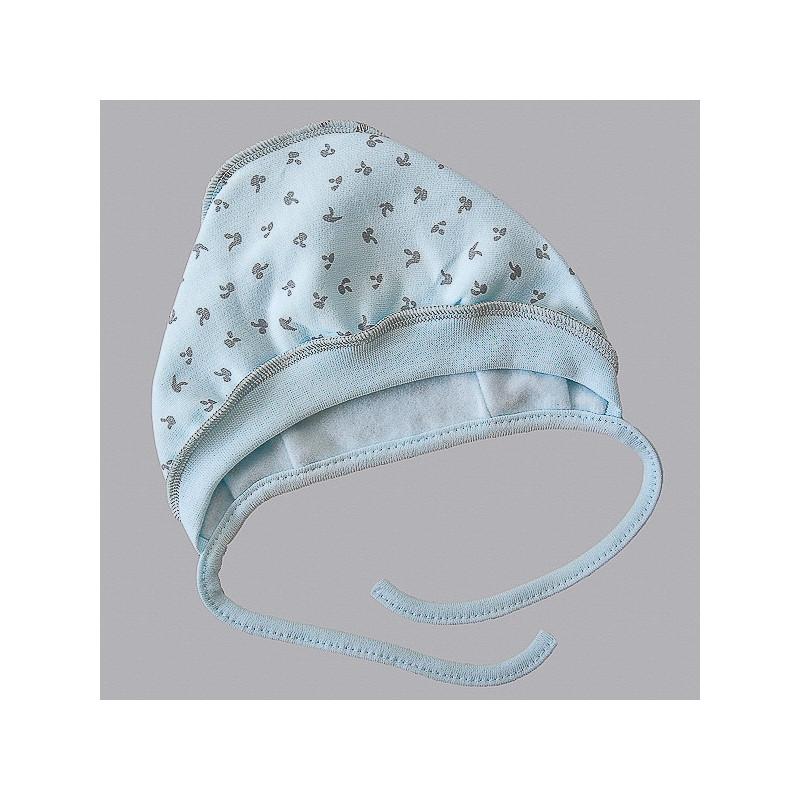 Šilta kepurė kūdikiui Tukis mėlyna VILAURITA 745