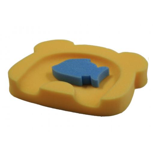 Sėdynė vonelei Badum, geltona