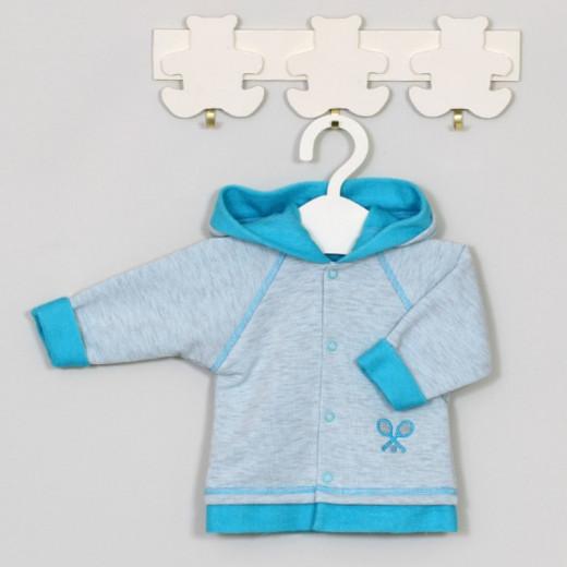 Džemperis kūdikiui Tennis mėlynas Vilaurita 522B