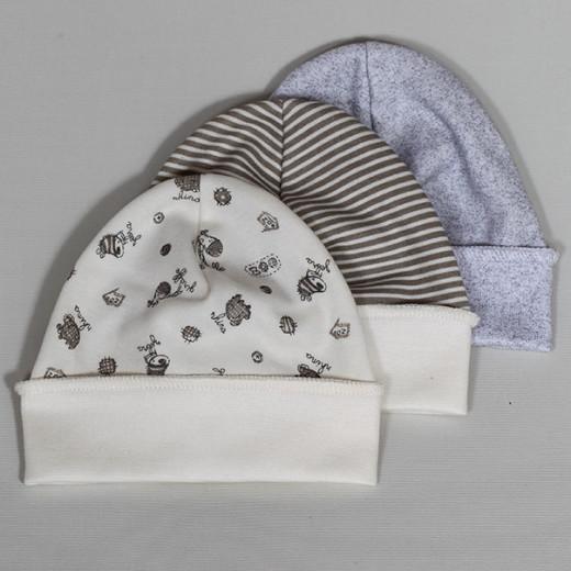 Medvilninė kepurė neišnešiotukams 38 cm VILAURITA 731