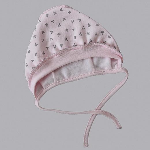 Medvilninė kepurė kūdikiui Modė rožinė VILAURITA 744