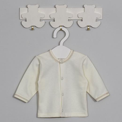 Šilti marškinėliai kūdikiui Martis Kreminiai VILAURITA 118