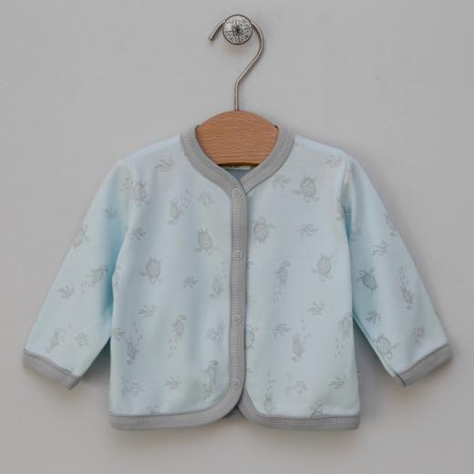 Medvilniniai marškinėliai Donatello mėlyni VILAURITA 115