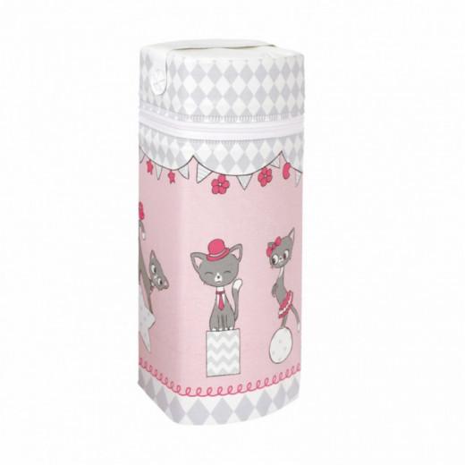 Universali Termopakuotė Jumbo rožinė-kačiukai CebaBaby