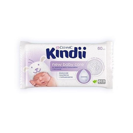 Drėgnos  kūdikių servetėlės New Baby Care 60 vnt. Cleanic