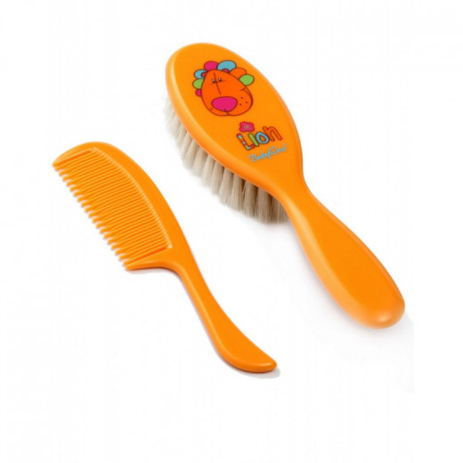 Kūdikio plaukučių priežiūros rinkinys 563 oranžinis Babyono