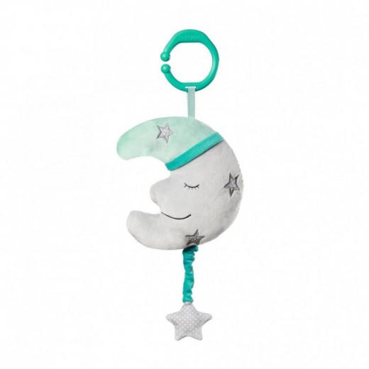 Minkštas žaisliukas su muzikėle MĖNULIS, 610 BabyOno