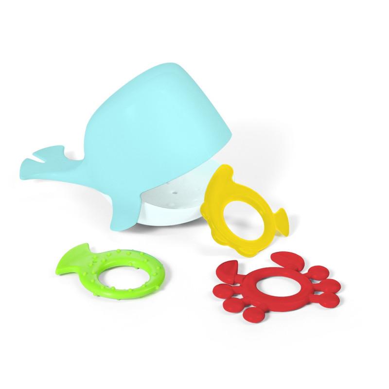 Vonios žaislas banginis, 883 (mėlynas)