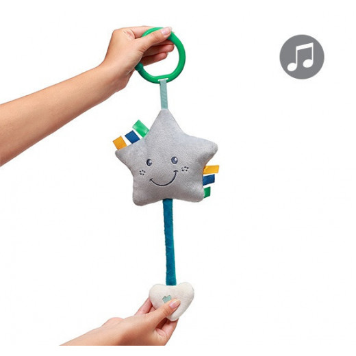 Minkštas žaislas BabyOno su melodija - žvaigždutė