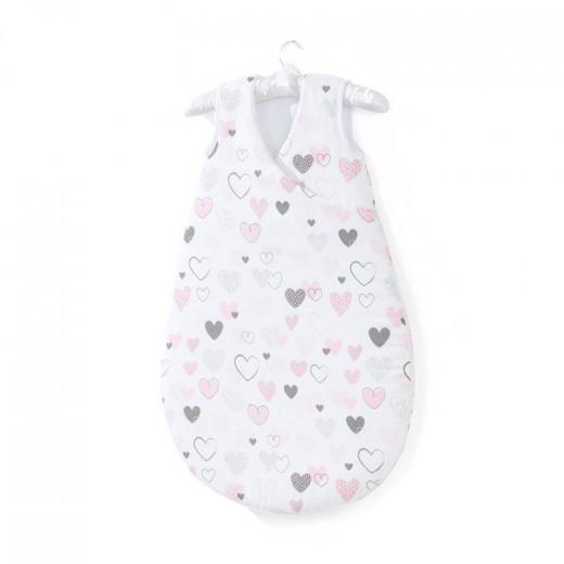 MamoTato miegmaišis Bubble, 75 cm, širdelės