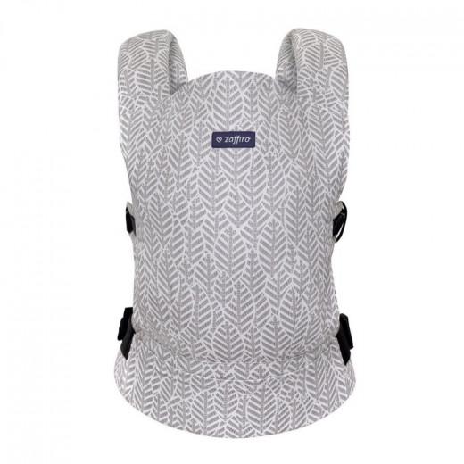 Zaffiro nešioklė ergonominė lapeliai, pilka City