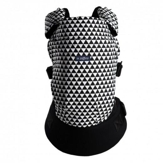 Zaffiro nešioklė ergonominė, juoda - balta, Care