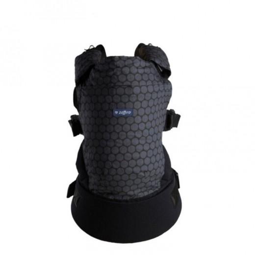 Zaffiro nešioklė ergonominė, grafitas, apskritimai, Care
