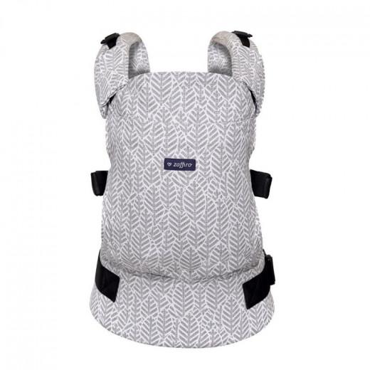 Zaffiro nešioklė ergonominė lapeliai, šviesiai pilkas, Care