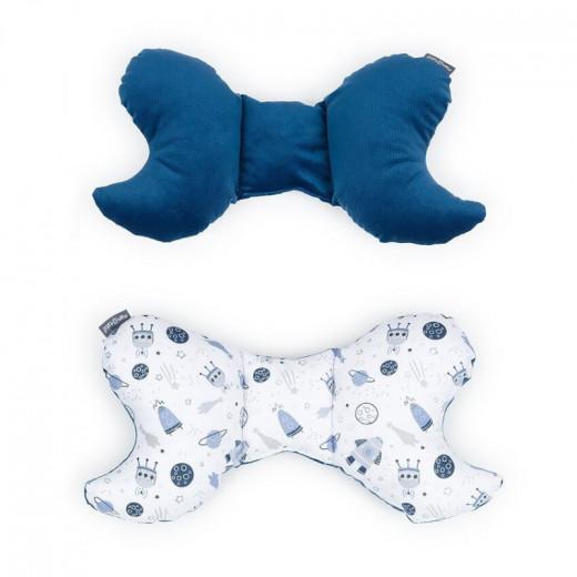 MamoTato pagalvė vežimėliui, kosmosas, mėlyna