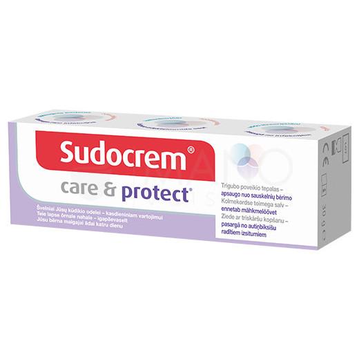 Sudocrem Care&Protect kremas 30g tubelėje