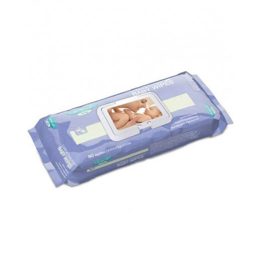Drėgnos higieninės kūdikių servetėlės Lansinoh 80vnt