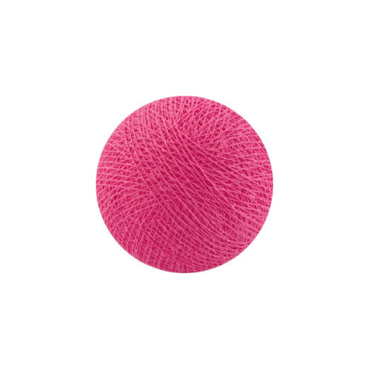 Šviečiančios girliandos medvilninis ROŽINIS burbulas COTTON FAIRY LIGHTS 0028