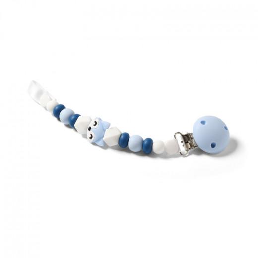 BabyOno čiulptuko laikiklis, mėlynas, lapė 719/03