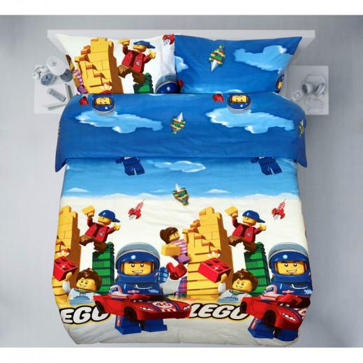 Drobinis patalynės komplektas LEGO DRAUGAI, N10010