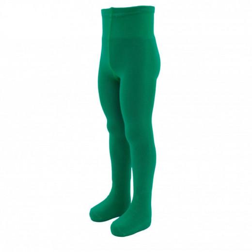 Medvilninės pėdkelnės vaikams Vegateksa Žalios Smaragdas