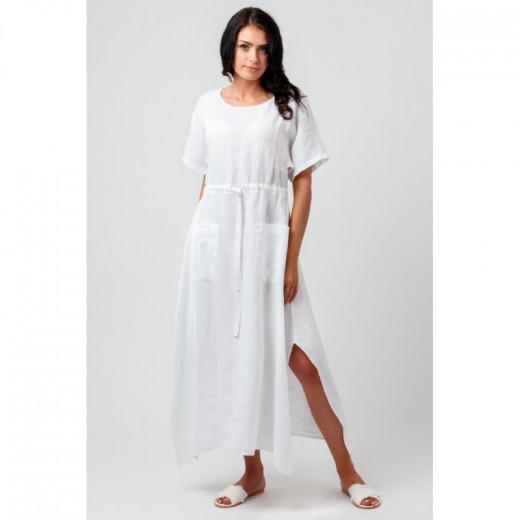 Natali Silhouette moteriška lininė suknelė